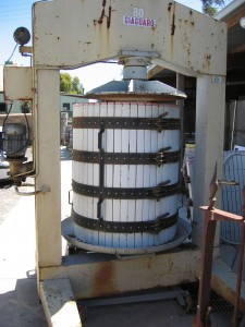 Winemaking Basket Press