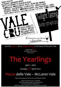 value cru tasting 15 apr 2012