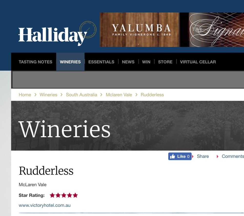Halliday Rudderless